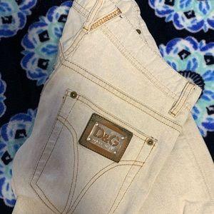 White Dolce&Gabbana jeans summer light